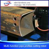 CNC Scherpe Machine van de Vlam van de Pijp van de Buis van het Staal van het Metaal de Rechthoekige