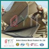 Doos Gabion van Hesco van de Barrière van Hesco de Gelaste Bastion//Gelaste Fabriek Gabion