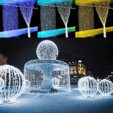 La plupart des lampes Salable Holiday Living Rubber Cable LED String Light