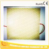 Thermistor van Verwarmer 24V 500W 600*600*1.5mm 3m van de Printer van het silicone 3D 100k