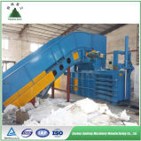 Máquina hidráulica automática da prensa de empacotamento do cartão da sucata com Ce