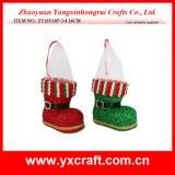 크리스마스 훈장 (ZY16Y268-1-2-3-4-5-6-7 12CM) 크리스마스를 위한 아름다운 형식 훈장