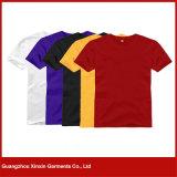El cortocircuito de la fabricación de la fábrica de Guangzhou envuelve el fabricante de la camiseta de los hombres (R102)