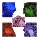 Het kosmetische Poeder Ultramarines (Blauw van de Rang, Roze, Viooltje)