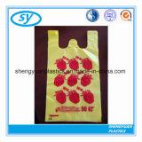 Het Winkelen van de T-shirt HDPE/LDPE van de supermarkt Biologisch afbreekbare Plastic Zak