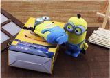 Amazon Venta caliente 2600mAh batería externa portátil de color amarillo, poco poder extraño Bank