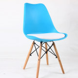 Cadeira de couro do restaurante moderno de muitas cores