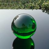 La decoración del hogar K9 Crystal bolas de color verde, el Fengshui pedazos de bola de cristal