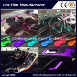 Alquiler de coches de película de hielo de cromo mate de vinilo de envoltura