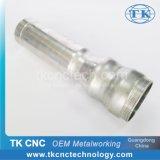 Алюминиевый закручивать CNC металла струбцины поверхности стыка клапана штуцеров пробки