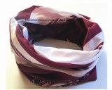 De Hals Tubies Headscarf van de Polyester van het Af:drukken van het Embleem van de Douane van de Opbrengst van de Fabriek van China
