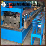 Doppio rullo di profilo dello strato di Floor&Ibr della piattaforma che forma macchina