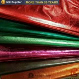 China Gold bronzeador de fábrica de estampagem de têxteis e de tecido para tecido de rugas Jacket