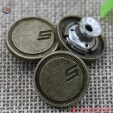 제조 주문 로고 금속 청바지 단추, 리베트