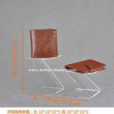 CLEAR acrylic Wallet display Plexiglass status Btr-G2002