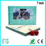 7 Zoll LCD-video elektronische Hochzeits-Einladungs-Karte