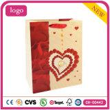 Венчание влюбленности дня Valentine романтичное производит мешки подарка бумажные