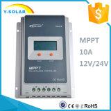 Contrôleur solaire d'Epever MPPT 10A 12V/24V 2 ans de garantie 1210A