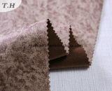Timbratura calda della pelle scamosciata e tessuto della stampa per il sofà e la presidenza