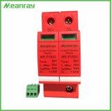 Unità esterna della protezione di impulso del sistema solare CC di PV del dispositivo di protezione dell'impulso del Ce 2p 20ka 500V
