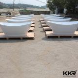 Baignoire en pierre extérieure solide acrylique de fournisseur de la Chine pour le projet d'hôtel