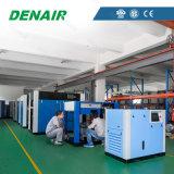 Compresseur d'air exempt d'huile de vis d'inverseur de graissage de l'eau