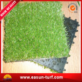 Blockierende künstliche Gras-Rasen-Plastikfliese für Garten