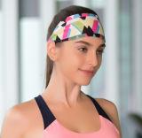 A ioga impressa ostenta presente da promoção do Bandana de Heandband o melhor
