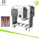 Estaca de máquina de enfaixamento de rachadura da barriga Salmon dos peixes duas partes