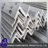 China 201 Staaf van de Hoek van Roestvrij staal 304 de Warmgewalste ASTM