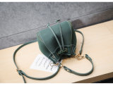 型の小型バケツのバッグレディーハンドバッグの女性袋のショルダー・バッグ(WDL0992)