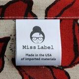 Design perfeito imprimir etiquetas de vestuário em GUANGZHOU