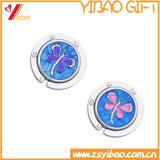 Faltbare purpurrote Frauen-Beutel-Aufhängung mit Ring (YB-pH-13)