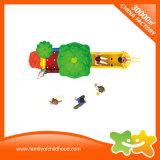 Glissière en plastique de mini matériel extérieur de parc d'attractions pour des enfants
