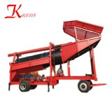 Alluvial Placer Portable Gold Trommel Wash Plant with Advanced Design