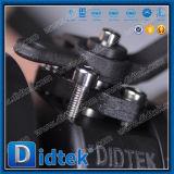 Vávula de bola de flotación del asiento del metal de Didtek con la palanca del dispositivo del bloqueo