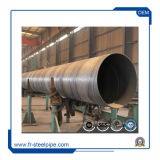 Spiral Steel Pipe Welded 10 Inch Carbon Steel Pipe Schedule 40의 공급 Spiral Steel Tube Tensile Strength