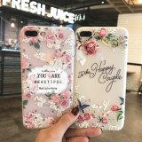 iPhone 6/7plus를 위한 신식 꽃 TPU 덮개 전화 상자