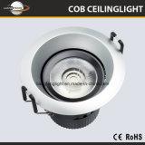 La nuova vendita calda 5With7W della Cina la PANNOCCHIA Downlight della pressofusione LED
