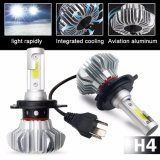 9000lm all'ingrosso impermeabilizzano il faro il LED H4, lampadina luminosa eccellente del faro dell'automobile LED di H7 Fanless