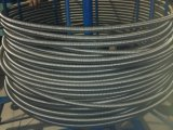 Tubo ondulato dell'acciaio inossidabile che fa macchina