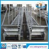 Échelle en acier de quai d'échelle d'embarquement en aluminium marine à vendre