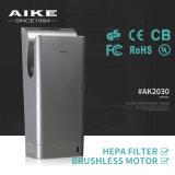 Secador de alta velocidade novo da mão do jato da luz UV da patente (AK2030)