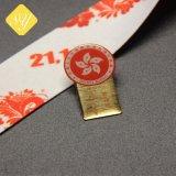 Barato preço de fábrica Nypd Pessoal impresso colaborador da Empresa Monograma Pin de lapela