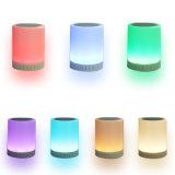 Alto-falante Bluetooth sem fio portátil com LED