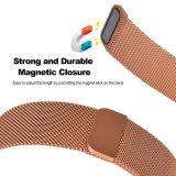 Orange Milanese trança metálica de Loop para banda iônico Fitbit faixa de relógio de substituição
