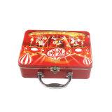 손잡이 금속 연장통 장식용 포장 주석 상자