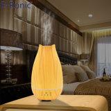 La madera Electric fragancia aceite Aromaterapia difusor con una lámpara de LED