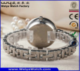 Manopola svizzera del cristallo di vigilanza di marchio degli uomini su ordinazione del quarzo per l'uomo (WY-17001B)