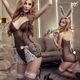 Uniforme sexy della biancheria del merletto dei coniglietti sexy di Cosplay